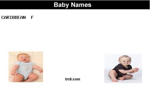 Caribbean Baby Names