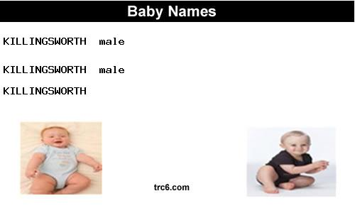 killingsworth baby names