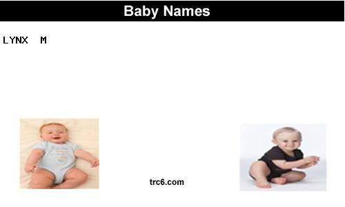 Lynx Baby Names