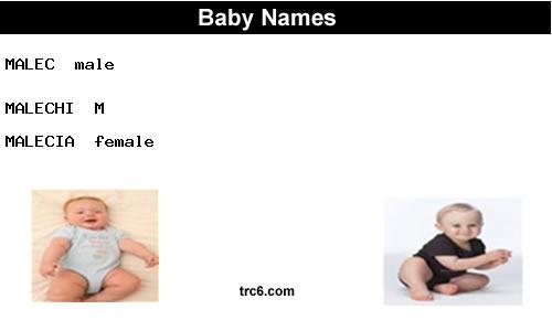 malec baby names
