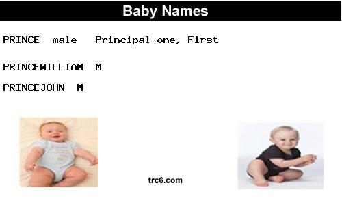 princejohn name meaning