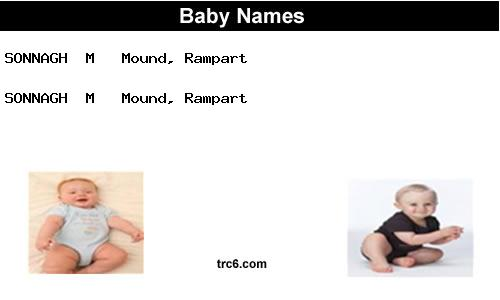 sonnagh baby names