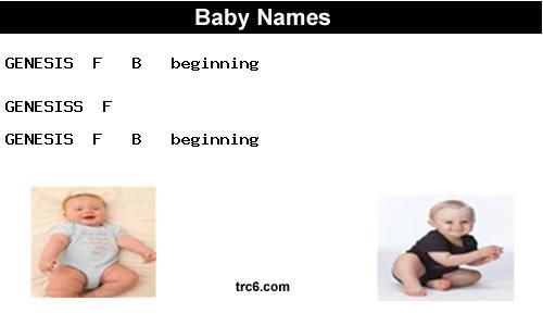 genesis | name meaning & origin | baby name genesis meaning